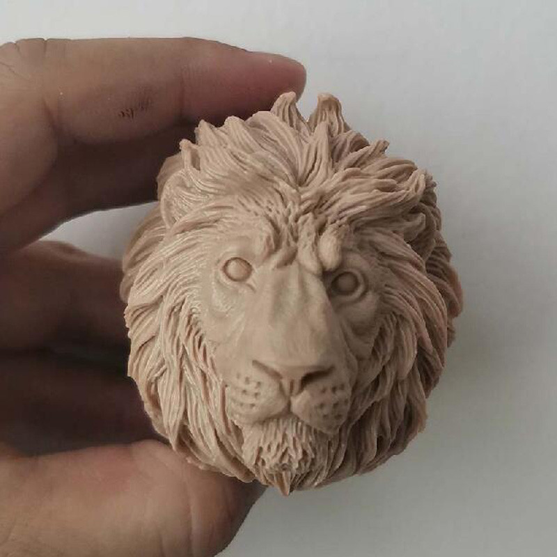 """Blank Hot 1//6 Scale King Of Animal The Lion Head Sculpt Unpainted Fit 12/"""" Figure"""