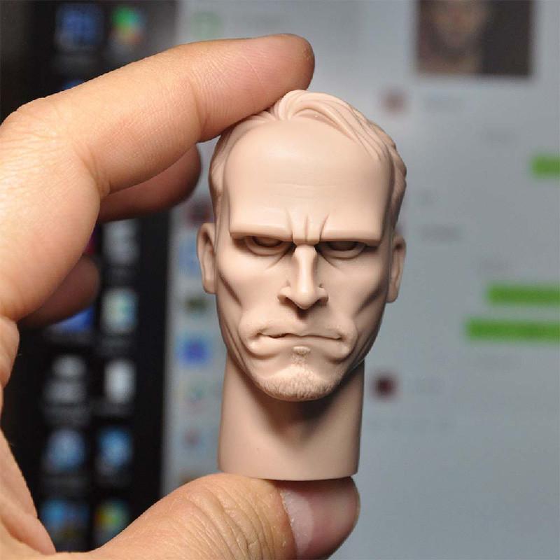 "Blank 1//6 Scale The Gangsters Kingdom Bernie Head Sculpt Unpainted Fit 12/""Figure"