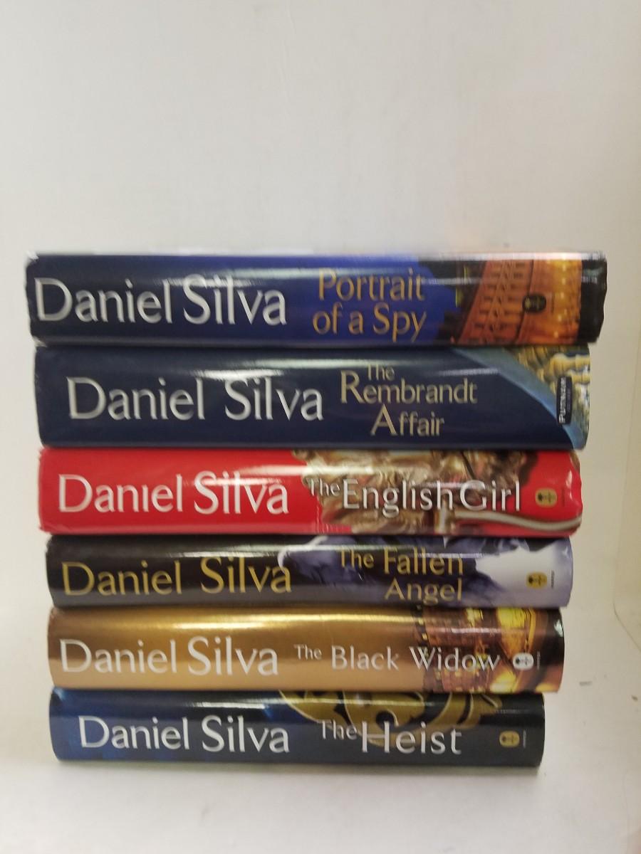 Lot of 6 Daniel Silva Hardcovers Gabriel Allon series Black Widow, English  Girl