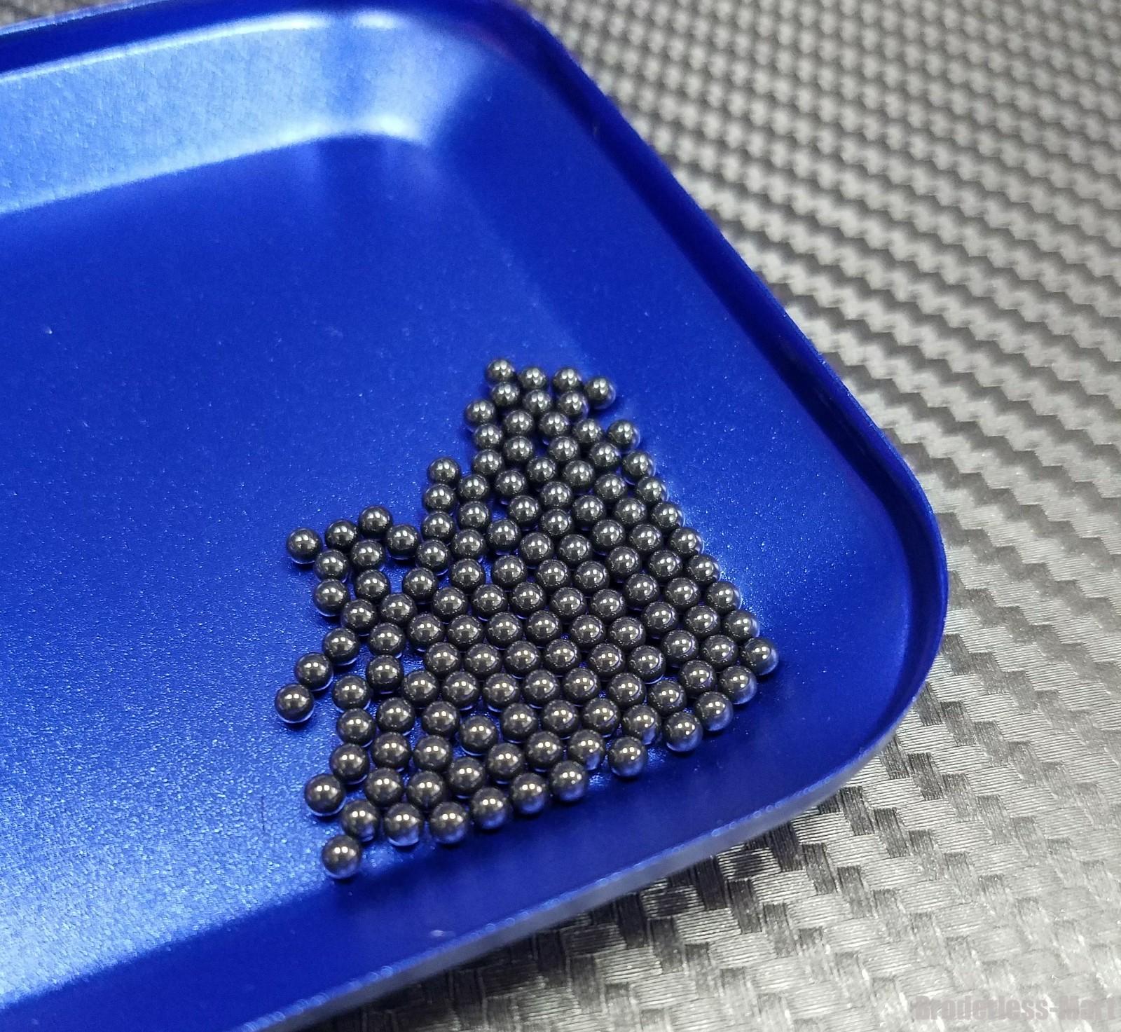 """Silicon Nitride 100 Pcs G5 Si3N4 Ceramic Loose Bearing Balls 1.588mm 1//16/"""""""