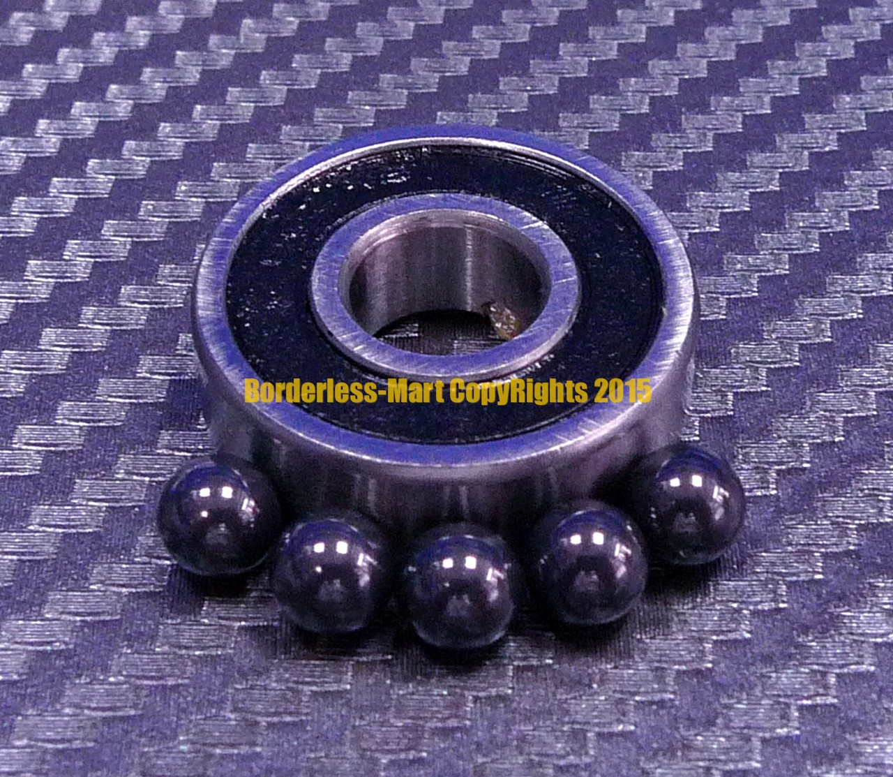 F688-2RS Metal Flanged Rubber Sealed Ball Bearing Bearings 8x16x5 mm 20 Pcs