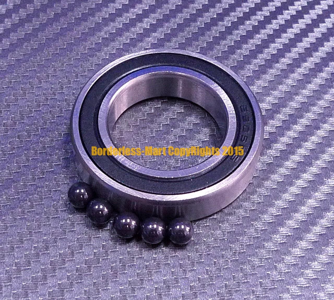 699-2RS 9x20x6 mm 4 PCS Hybrid Ceramic Si3N4 Rubber Sealed Bearing Bearings