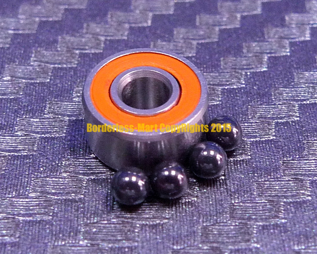 440c CERAMIC Stainless Steel Bearing S693-2RS ABEC-7 Orange 3x8x4 mm 10 PCS