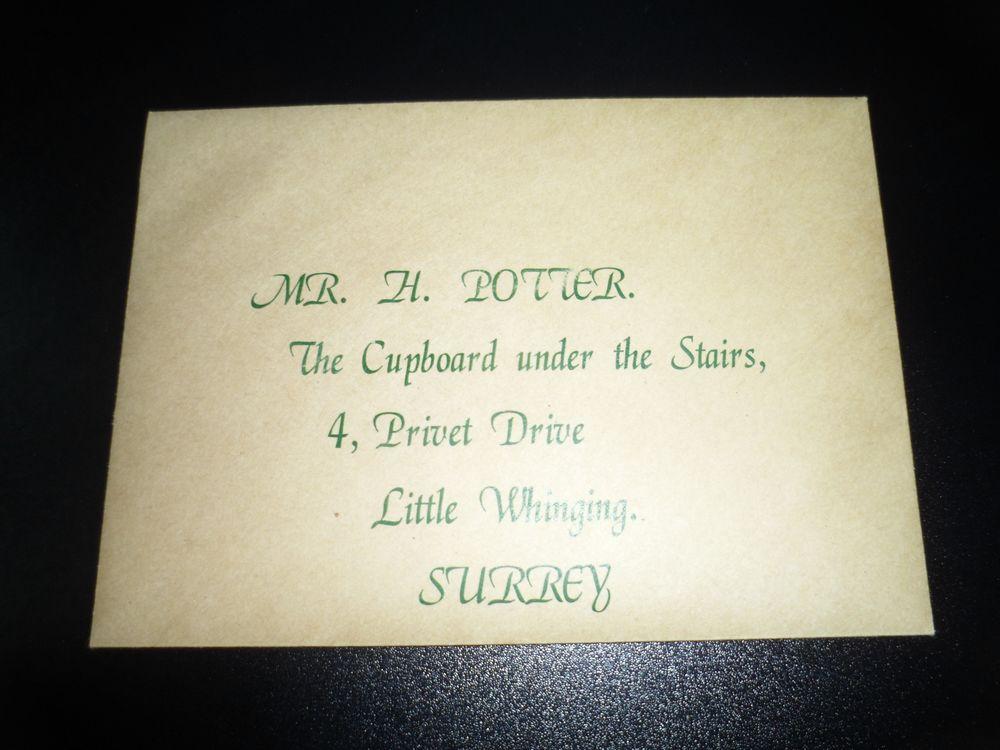 Harry Potter Standard Gift Set Hogwarts Acceptance Letter  Express