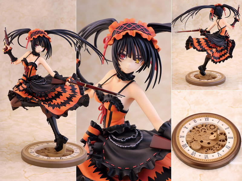 PVC Figure Toy 23cm New Date A Live Tokisaki Kurumi Lingerie Ver