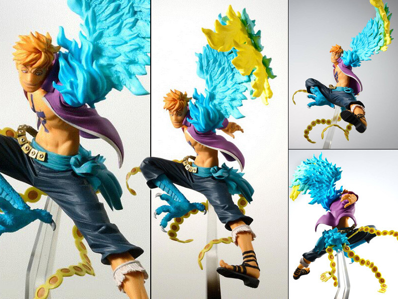 One Piece SCultures BIG ZOKOKU The Battle Over the dome Luffy Figure 16cm NOBOX