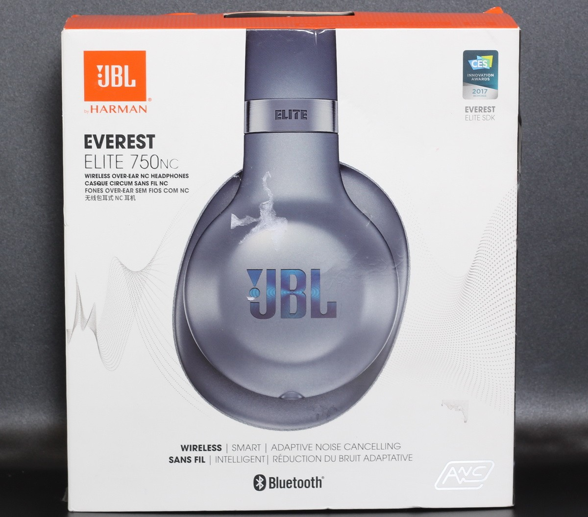 37219f83a69 Details about JBL Everest Elite 750nc Wireless Bluetooth Noise Cancelling  Headphones Blue M#5