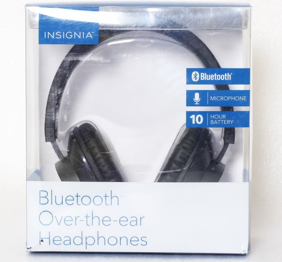 NO BOX Insignia NS-CAHBTOE01 Bluetooth wireless Over-the-Ear Headphones