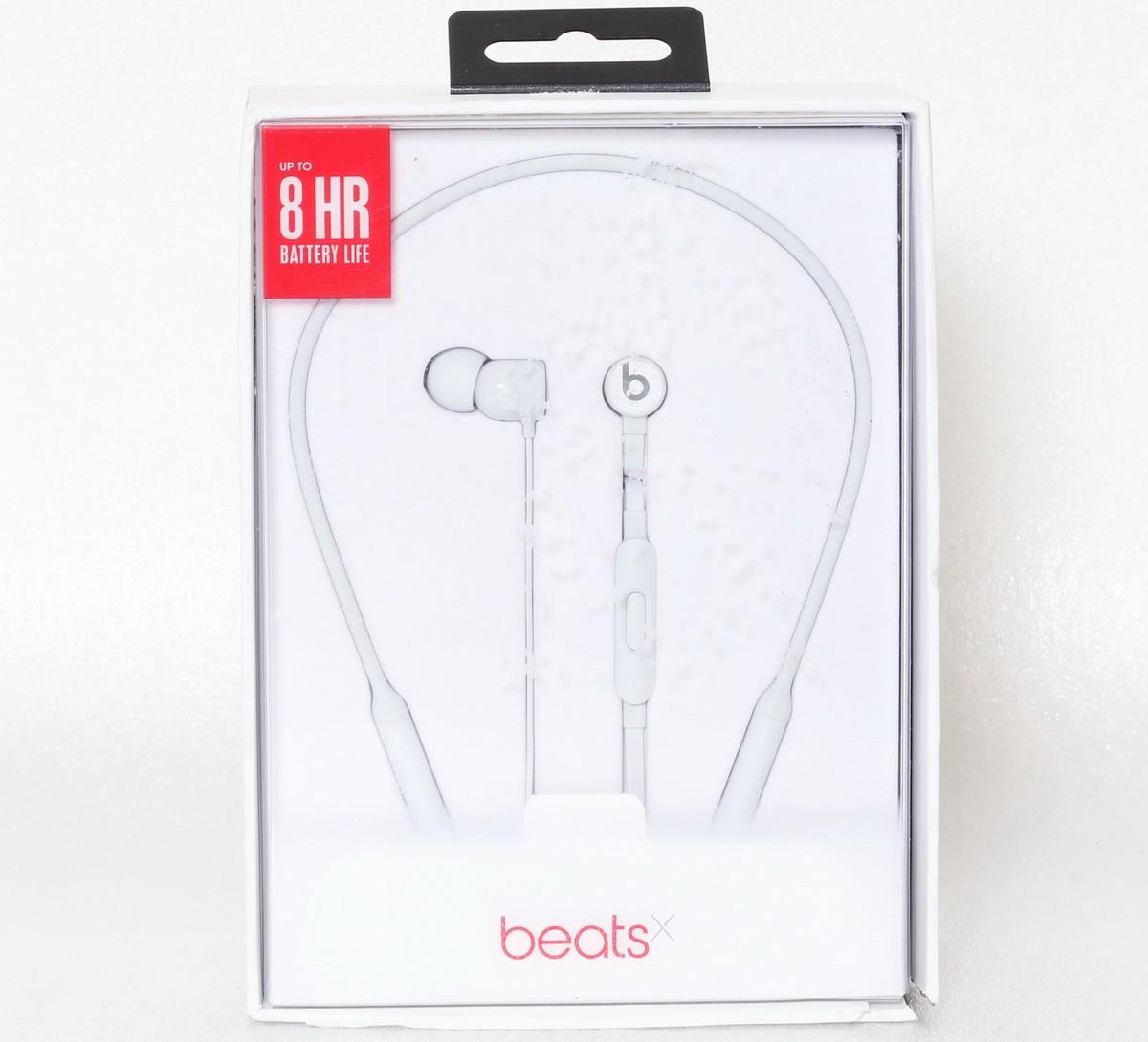 Beats by Dr Dre BeatsX écouteurs Casque sans fil Argent Mat