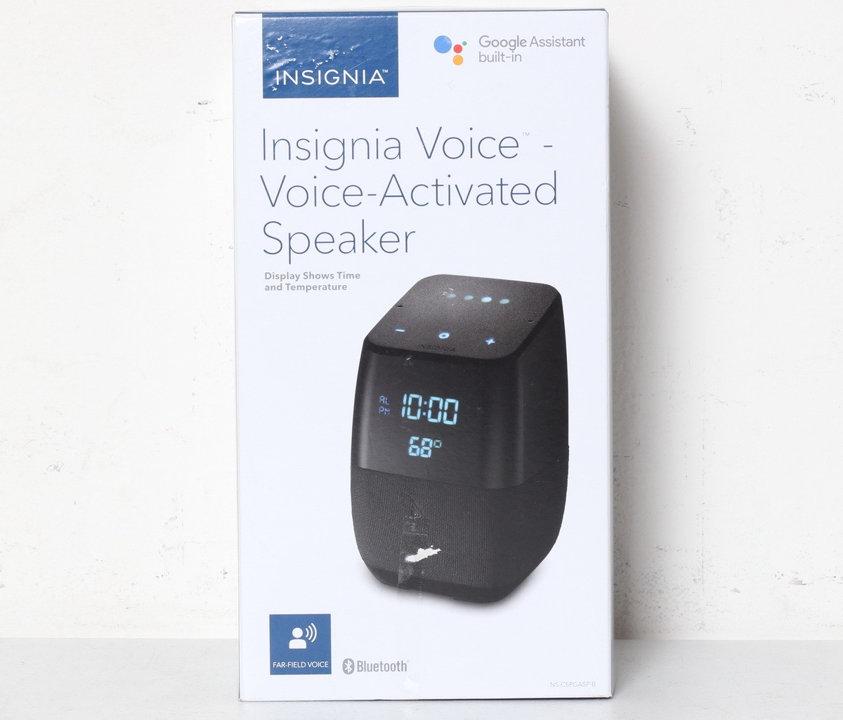 Details about Insignia Voice Smart Bluetooth Speaker with the Google  Assistant Black SR
