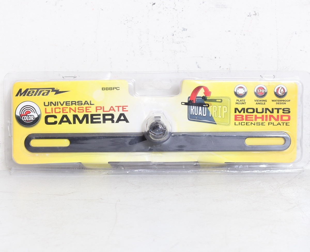 Metra BBBPC License Plate Full Color Back-Up Camera w// 170 Degree Viewing Angle