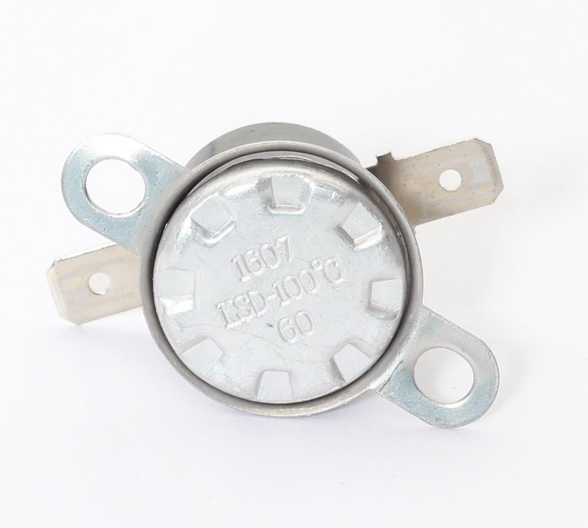1607 KSD-100°C 60 Bimetal Thermal Fuse GE//LG//Samsung//Sharp//Panasonic Microwave