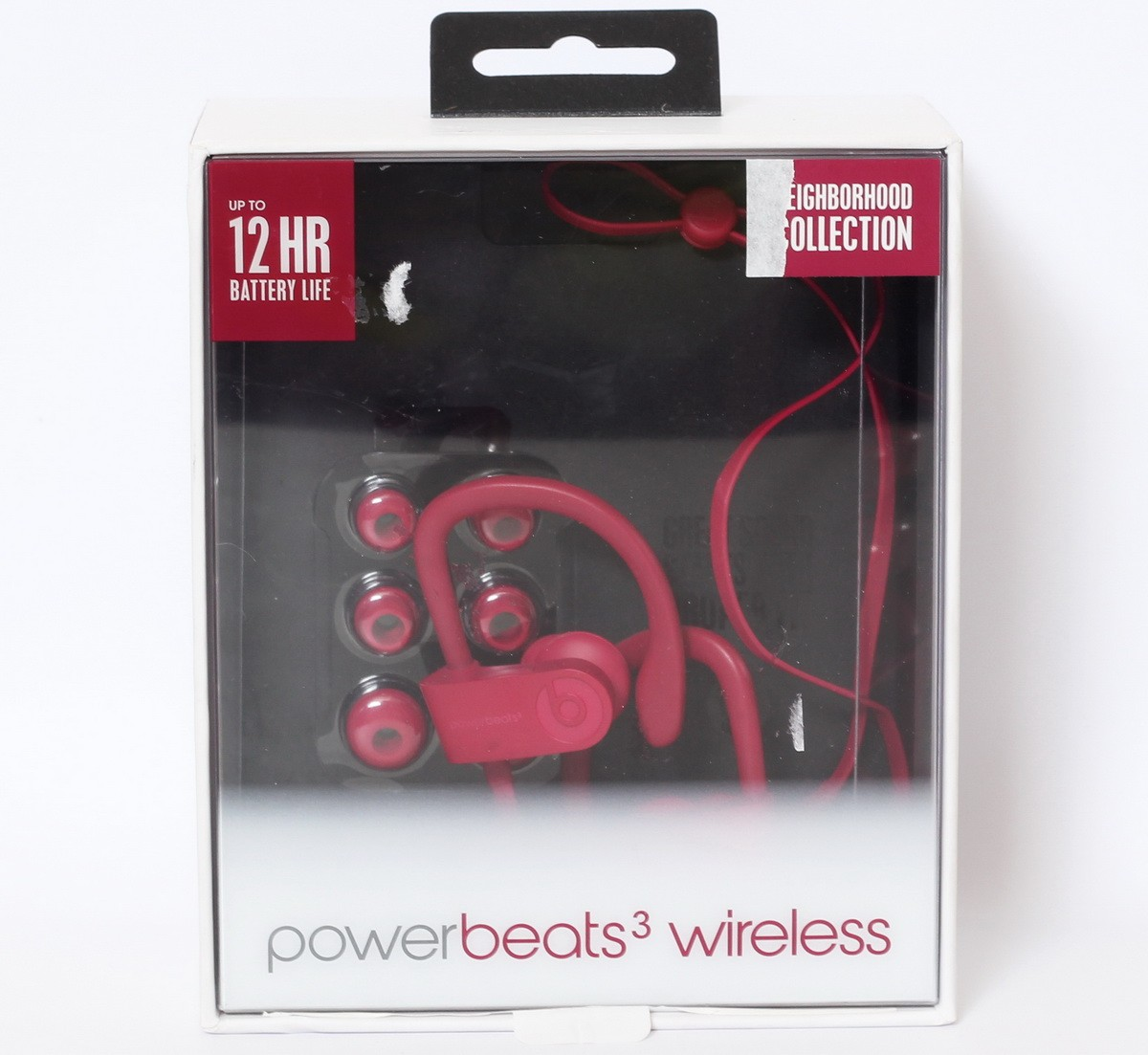 8b3b96b9fae Details about Beats by Dr Dre Powerbeats3 Wireless Earphones Neighborhood  Collection Brick Red