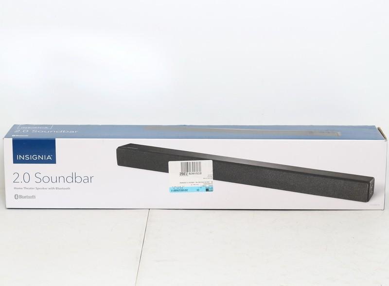 Insignia NS-HSB318 2.0-Channel Soundbar with Digital Amplifier