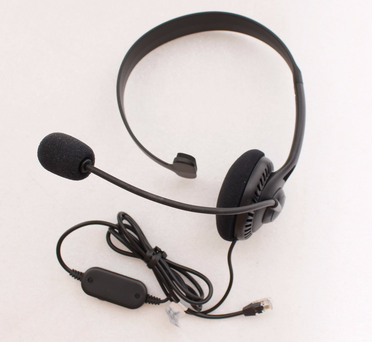Details about 2-PACK) Insignia Landline Phone Hands-Free Headset RJ9  Connection Volume Mute