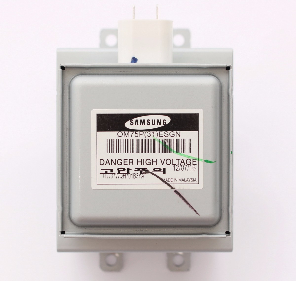 Original OEM Genuine Samsung OM75P ESGN Magnetron From MS14K6000AG Microwave 31