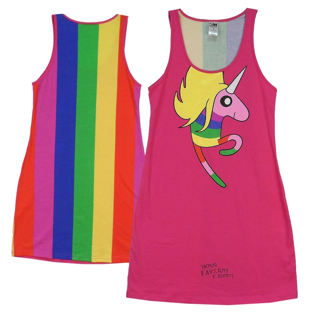Adventure Time With Finn And Jake Lady Unicorn Licensed