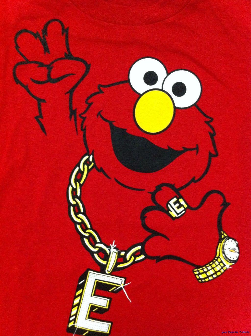 Elmo Gangster Wallpaper