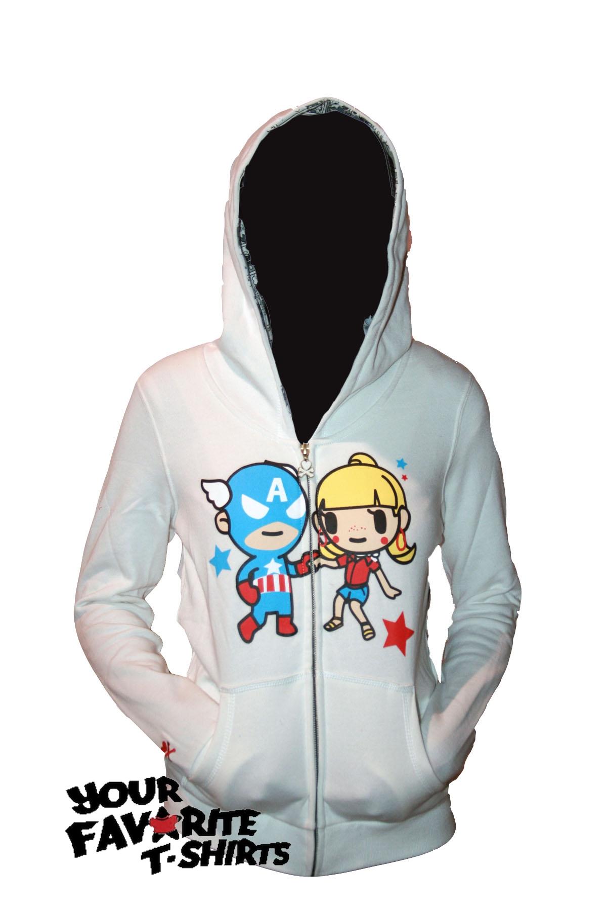 Tokidoki marvel hoodie