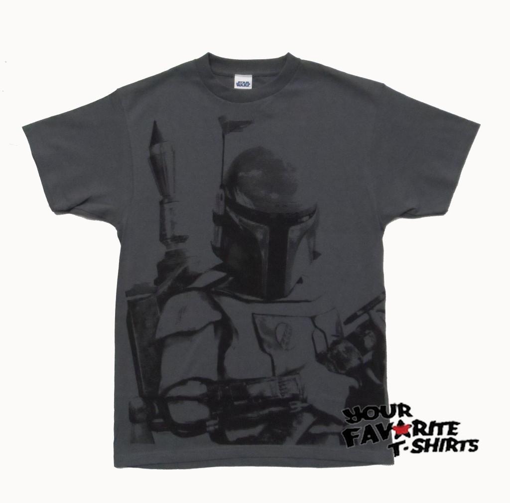 61168a02fba0a Star Wars Boba Fett Bounty Hunter Sarlacc Bait Licensed Adult T ...