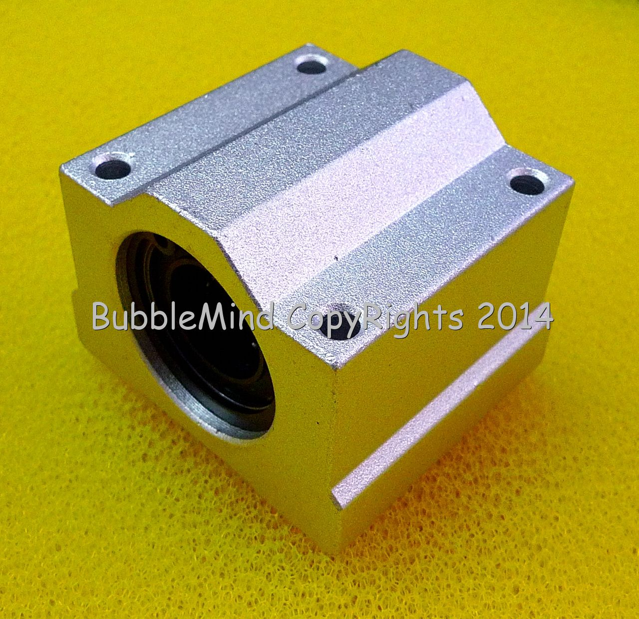2 PCS SCS6UU SC6UU 6mm Metal Linear Ball Bearing Pellow Block Unit FOR CNC