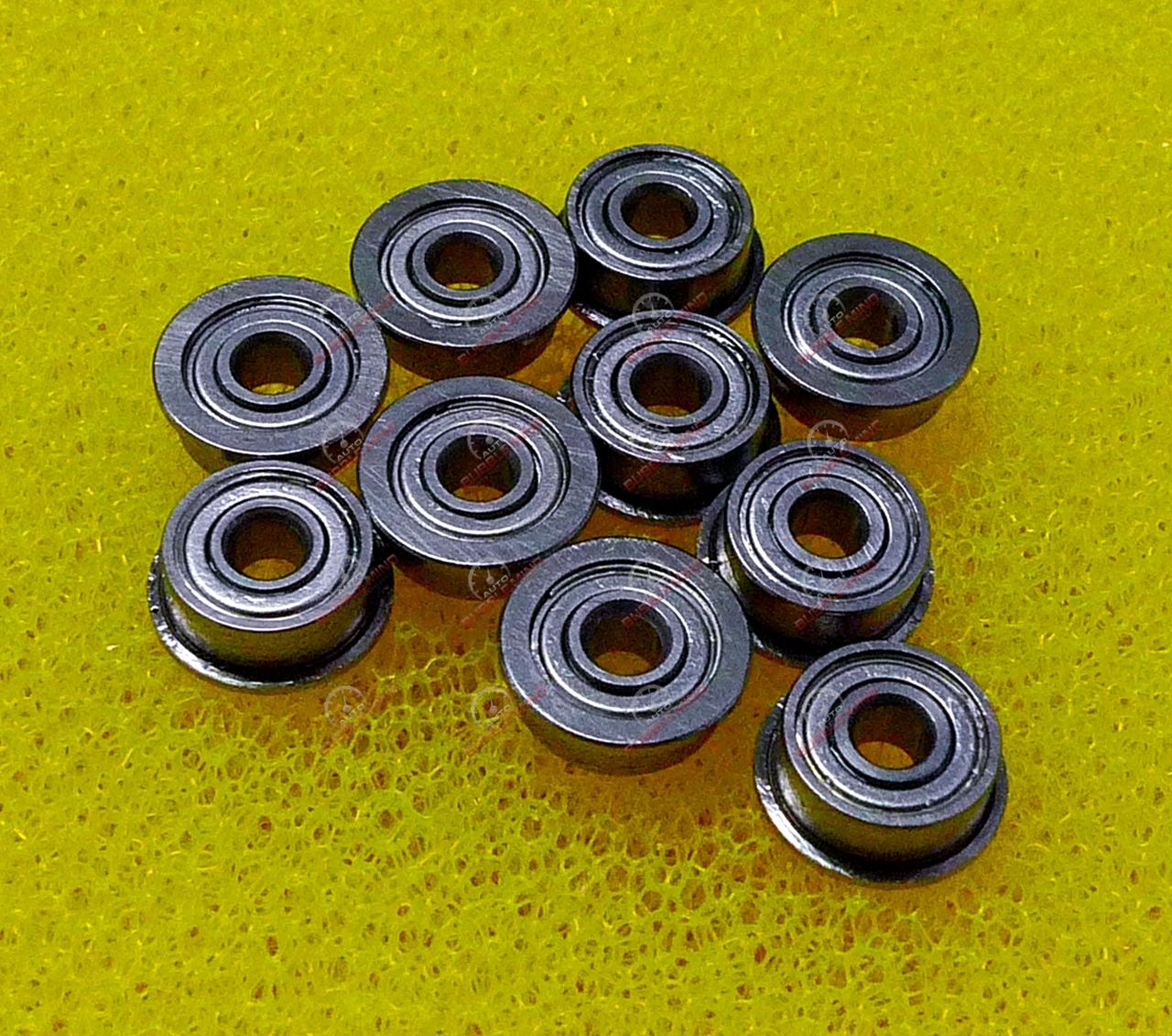 "Flange Metal Double Shielded Ball Bearings FR2zz 1//8/"" x 3//8/"" x 5//32/"" 10 PCS"