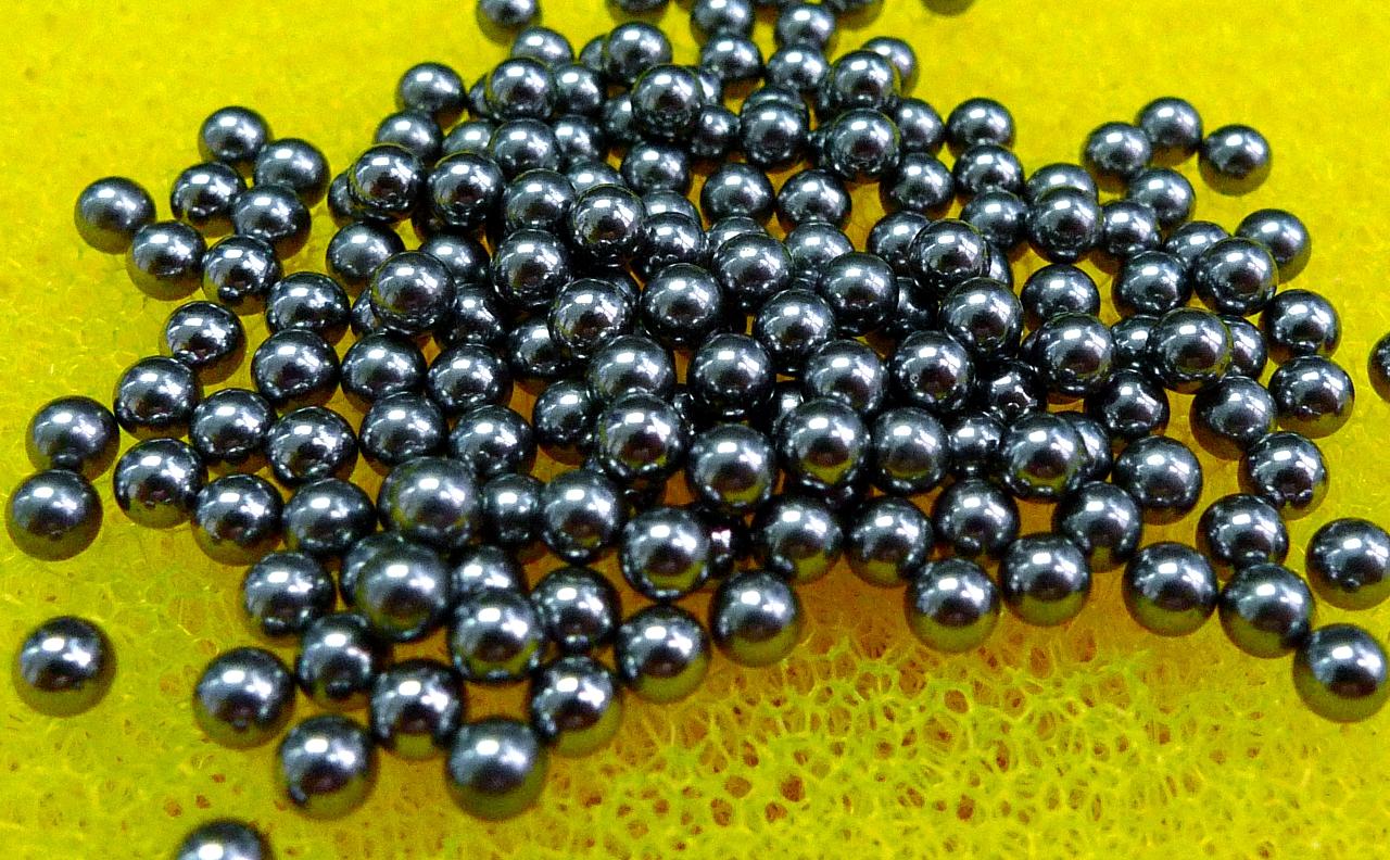 """Si3N4 50 PCS G5 6mm Ceramic Loose Bearing Balls Silicon Nitride 0.2362/"""""""