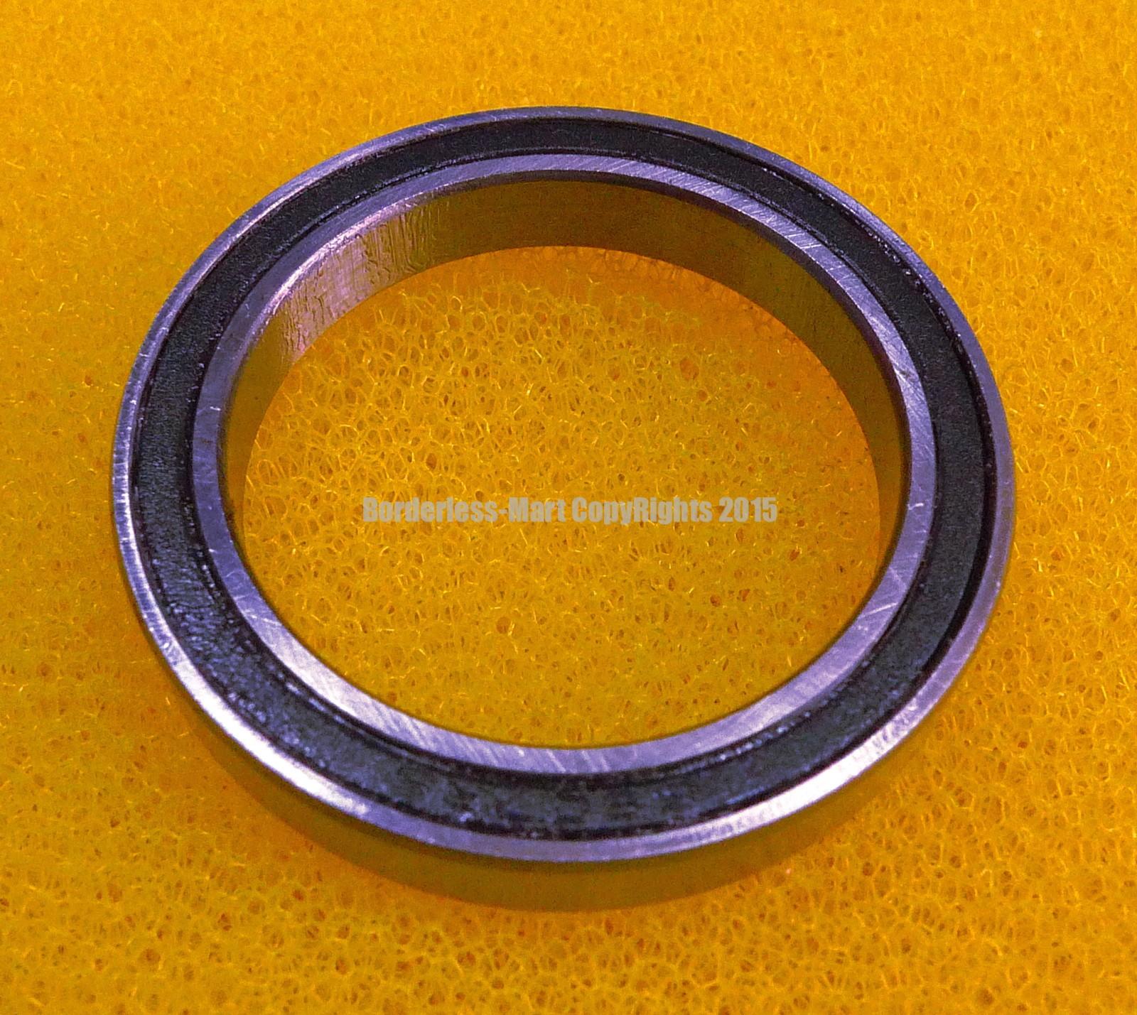 Metal Rubber Ball Bearing Bearings BLACK 6806RS 30x42x7 mm 6806-2RS 5 PCS
