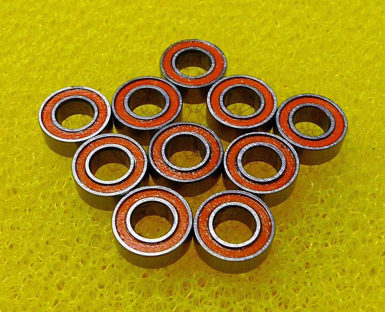 440c CERAMIC Stainless Steel Bearing ABEC-7 SMR128-2RS 10 PCS 8x12x3.5 mm
