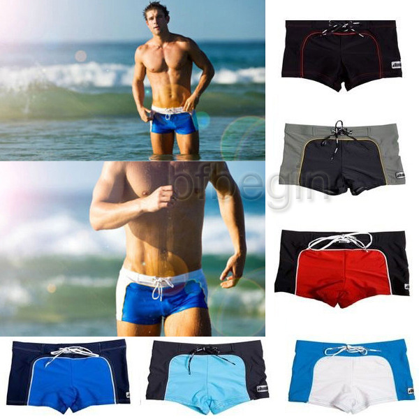 a19a202a3a Details about New Hot Sexy Cool Men s Swimwear Boxers Swimming Trunks Swim  Shorts Beach Pants