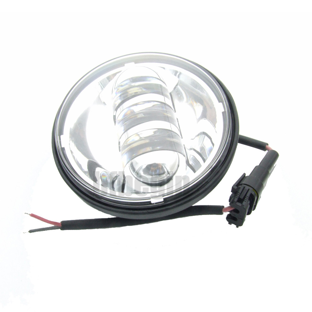 4 5 Quot 6 Led Auxiliary Passing Fog Light Lamp Motorcycle