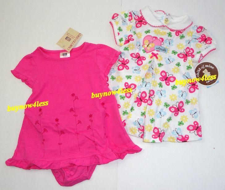 New 19 Piece Infant Baby Girls Clothes Dress Lot Preemie Newborn 0 3 6 9 Months