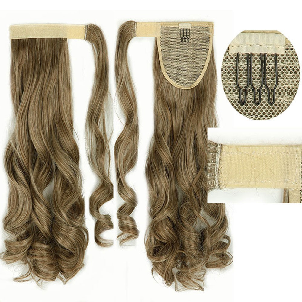 Clip In Ponytail Pony Tail Hair Extensions Clip On Hair Piece As