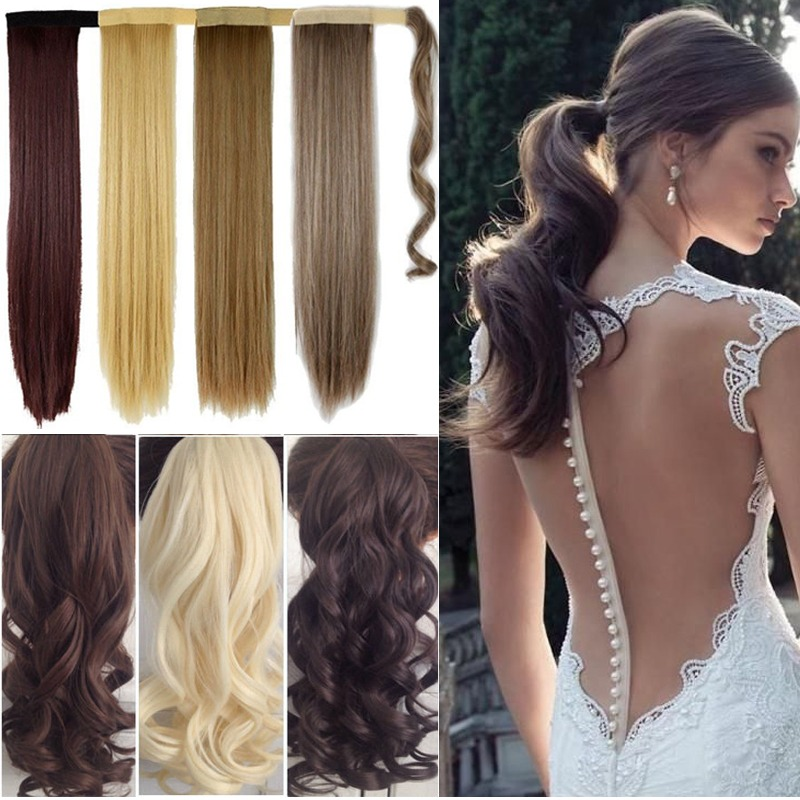 Uk Stock Full Head 8 Piece Clip In On Hair Extensions New Real Thick
