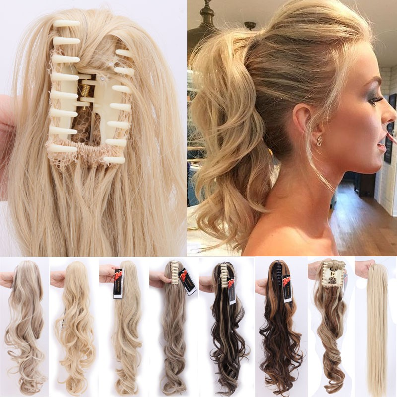 Uk Real 5 Human Long Clip In Hair Extensions One Piece Full Head