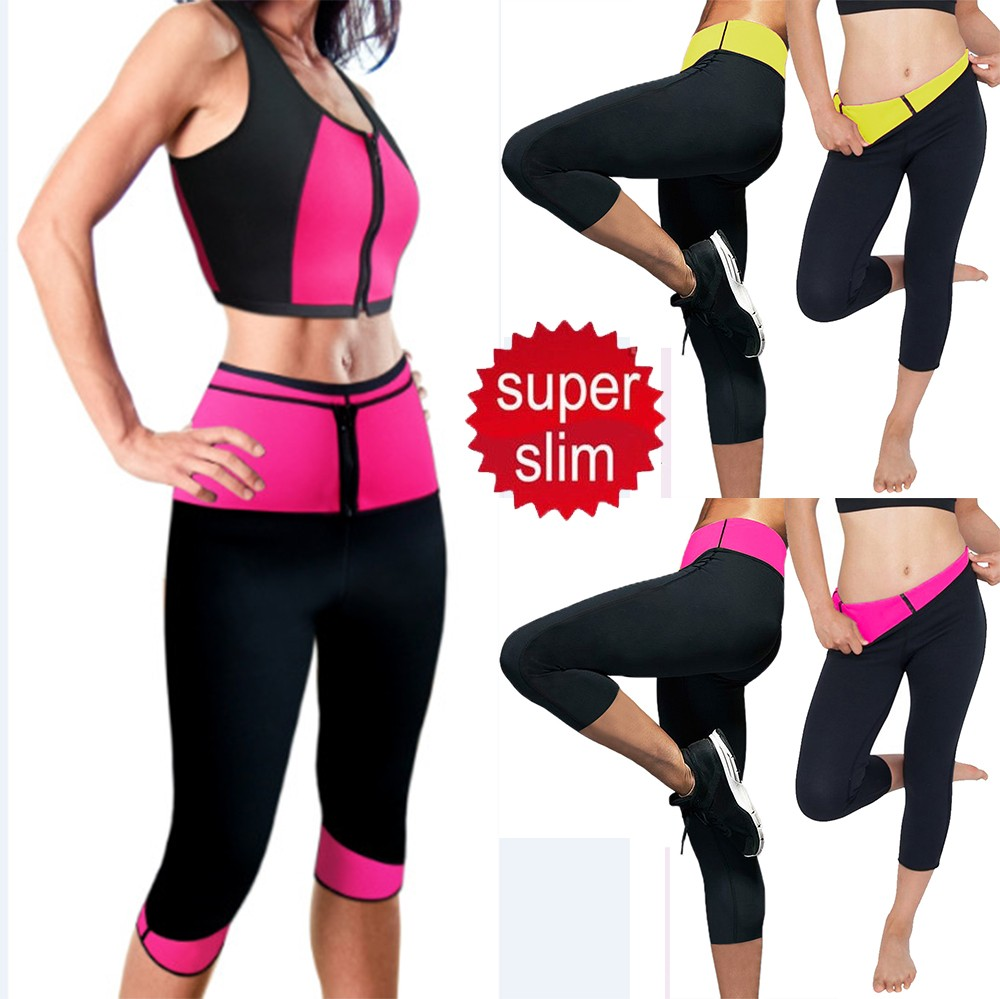 3826ba7dd39c7 Hot slimming women s neoprene pants are sports clothes and daily use  designed neoprene increases body temperature helping the body