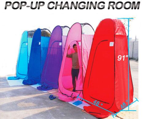 7 58 Portable Pop Up Changing Tent Room Camping Pink