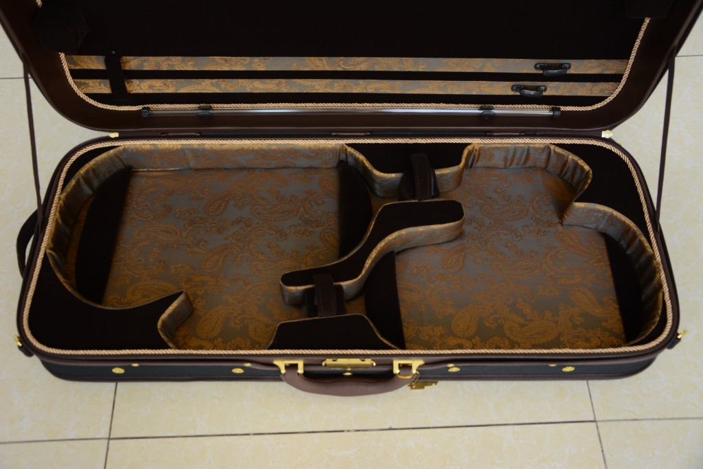HL-002 For Viola Royal Viola/&Violin Double Wooden case! 406-420 mm