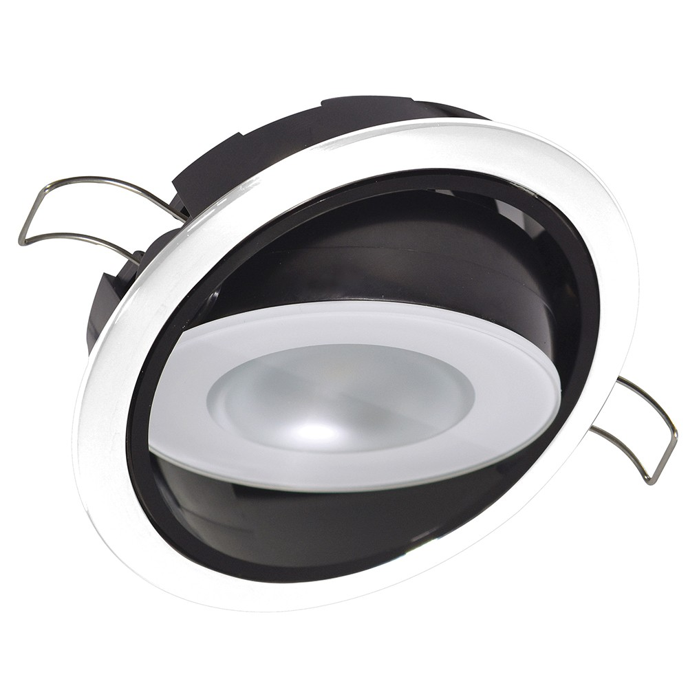 NEW Lumitec Mirage Positionable Down Light - White Dimming, Red/blue Non-dimming