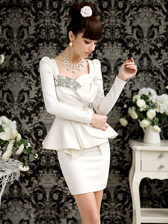 New Arrival High Quality Sexy Womens Elegant Puff Sleeve