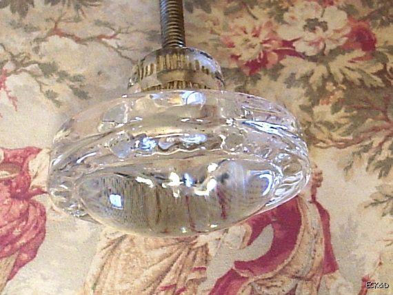 Glass Cabinet Knobs Drawer Pulls Crystal Hardware O12