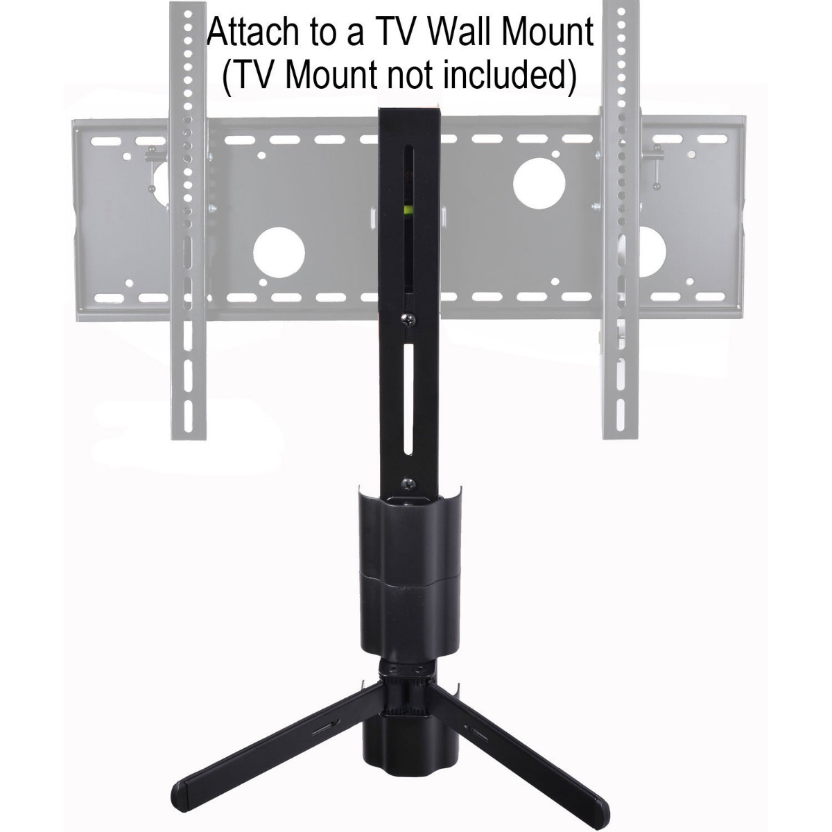 dvd wall mount shelf component cable box game console dvr bracket under tv 1vh. Black Bedroom Furniture Sets. Home Design Ideas