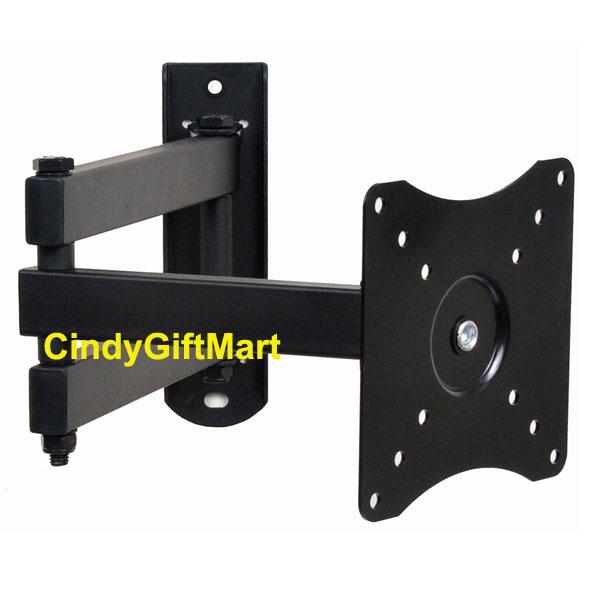 Articulating Swivel Tilt LCD LED TV Monitor Wall Mount 15 19 21 22 23 26 27 1KX