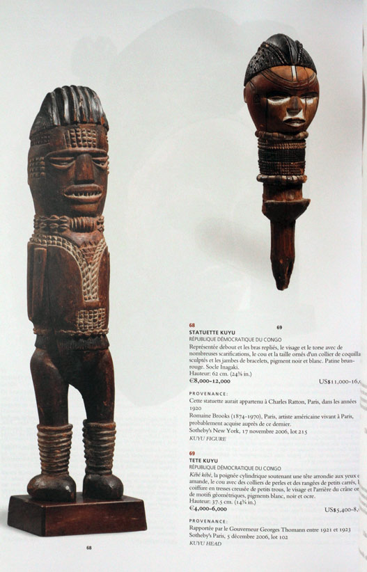 Details about CHRISTIE'S 2010 African and Oceanian art auction catalogue