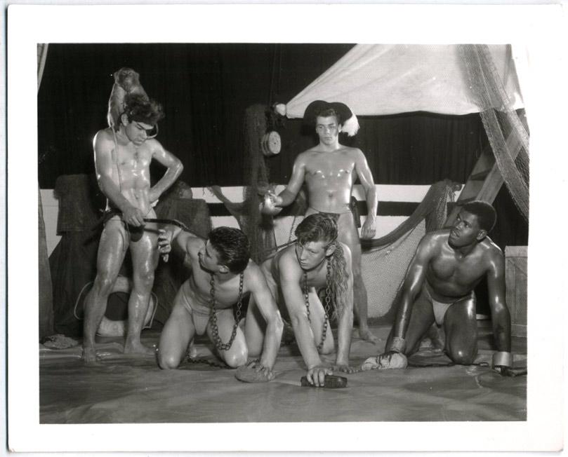 Nude Gay Male Slaves 3