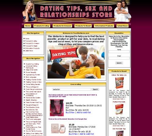 ONLINE DATING Website For Sale  MAKE MONEY with AMAZON EBAY ADSENSE