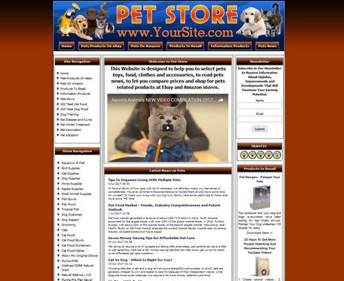 Pet Supply Store Website For Sale  List Cats Dogs Birds  | eBay