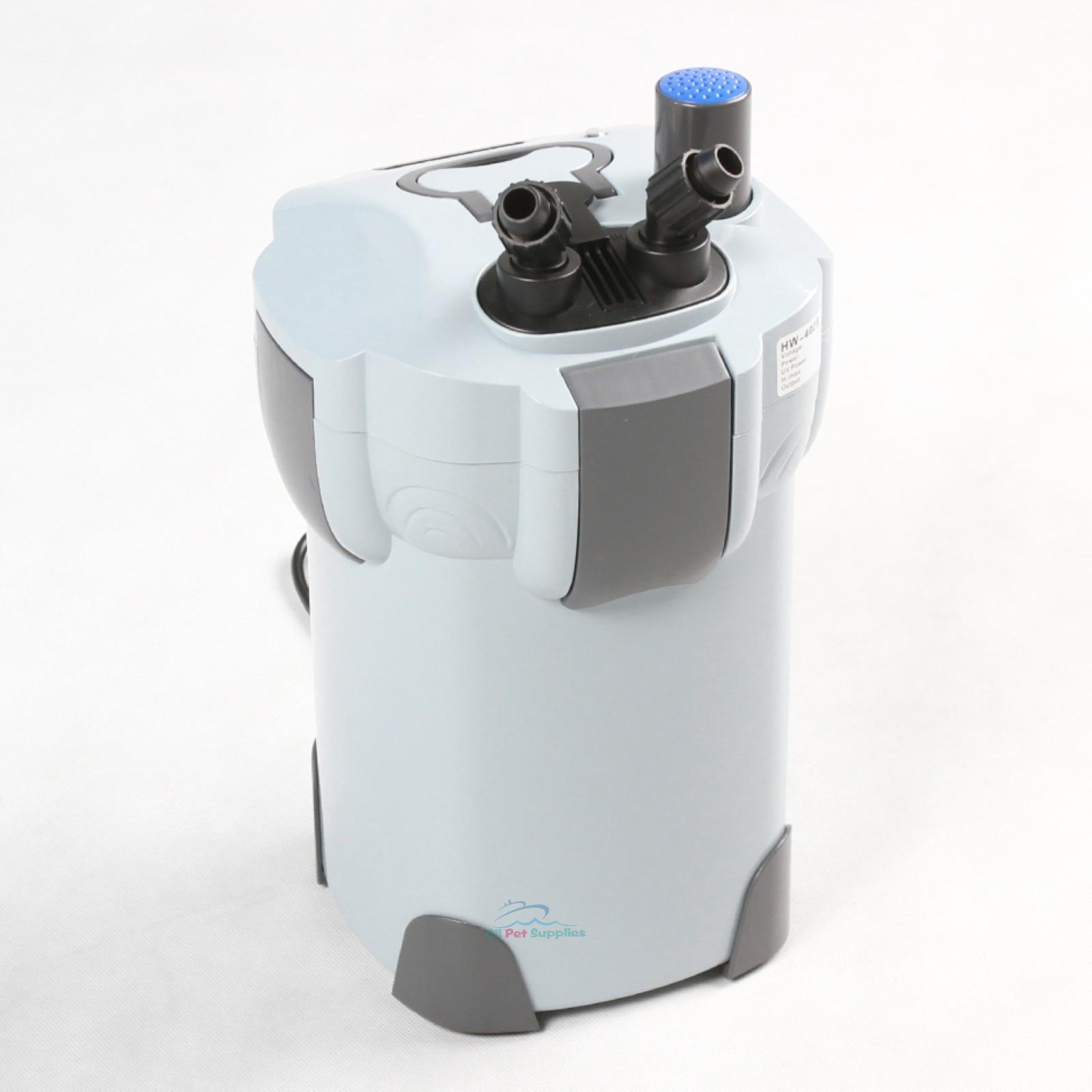 new 3 stage aquarium canister filter 9w uv sterilizer 265 gph fresh salt. Black Bedroom Furniture Sets. Home Design Ideas