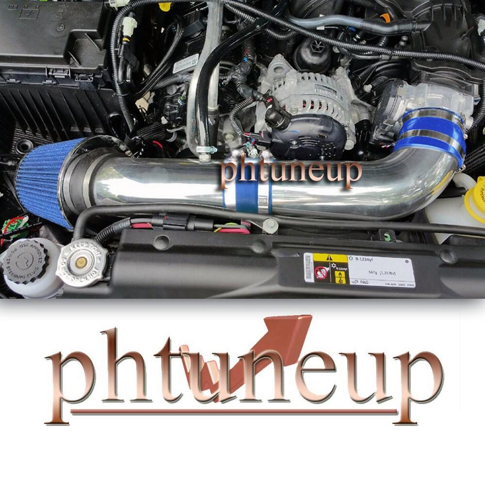 BLACK BLUE AIR INTAKE KIT FOR 2012-2018 JEEP WRANGLER 3.6 3.6L V6 ENGINE