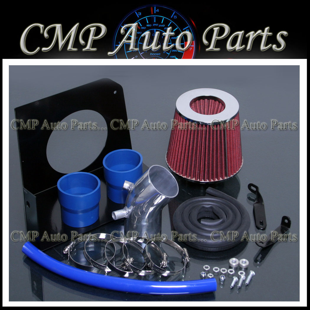 BLUE Filter BCP 2008-2012 Accord 2.4L L4 Cold Air Intake Induction Kit